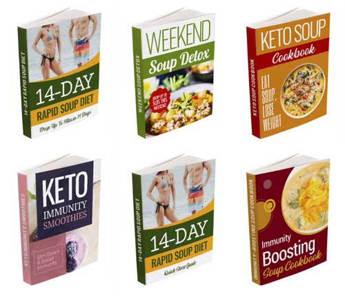 14 day rapid soup diet bonus books