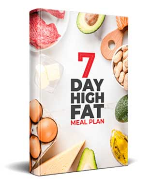 7 day high fat meal plan book