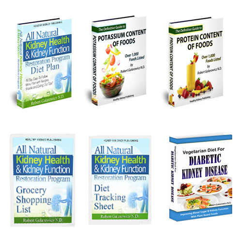 all natural kidney health bonus books