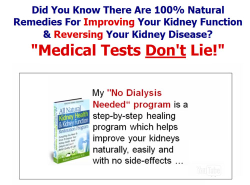 all natural kidney health scam