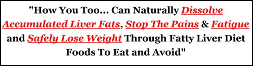 fatty liver diet guide scam