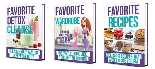 favorite food diet bonuses