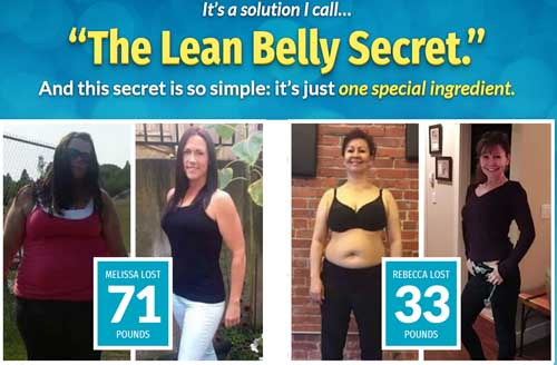 lean belly secret scam