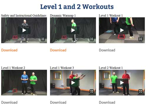 functional fitness exercise videos
